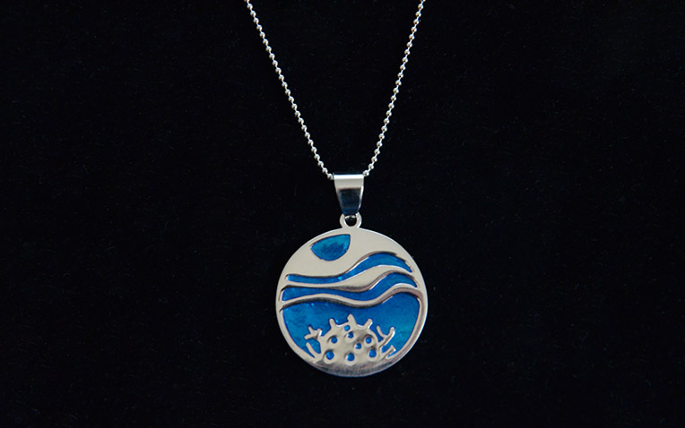 Eternal Reefs keepsake necklace