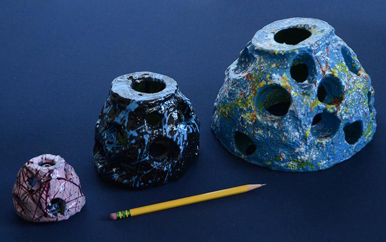 Eternal Reefs keepsake paper weights - scale