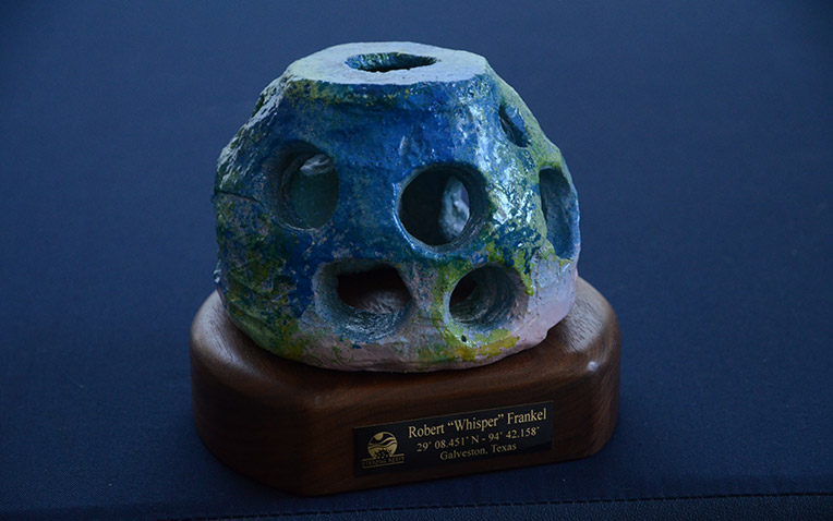 Eternal Reefs keepsake statue