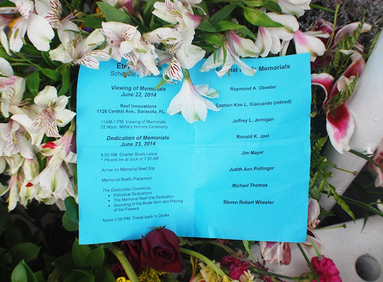 Eternal-Reefs-Placement-08-Sarasota-June-2014-Flowers
